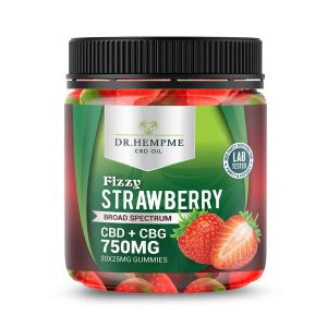 cbd gummies Strawberry Mockup