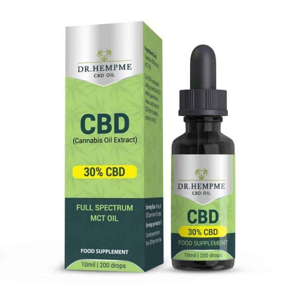 CBD 30%-Full Spectrum MCT Oil Mockup